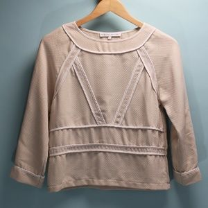 English Factory Contrast Boxy Top